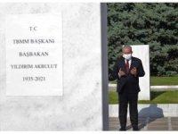 TBMM Başkanı Şentop'tan Devlet Mezarlığı'na ziyaret