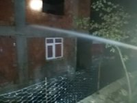 Kastamonu'da yıldırım düşmesi sonucu 6 ev yandı, 3 kişi de yaralandı
