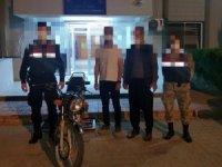 Suçüstü yakalanan motosiklet hırsızı tutuklandı