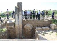Aizanoi Antik Kenti'ndeki kazı çalışmaları