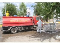 Bismil Belediyesi tam kapanmayı fırsata çevirdi, temizlik seferberliği başlattı