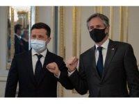 Ukrayna Devlet Başkan Zelenskiy, ABD Dışişleri Bakanı Blinken ile görüştü