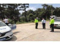 Vali Aktaş, polis kontrol noktasını denetledi