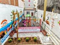 Malatya'da atıl alan sosyal tesise dönüştürüldü