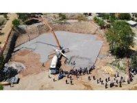 Yahşihan'da bin 500 kişinin aynı anda namaz kılabileceği caminin temeli atıldı