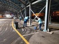 Süleymanpaşa Belediyesi semt pazarlarını dezenfekte etti
