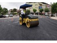 Salihli'de asfalt çalışması hız kesmiyor