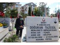 Şehit anneleri Anneler Günü'nü evlatlarının mezarı başında geçirdi