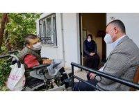 Serebral palsi hastasının hayalini doğum gününde gerçekleştirdi