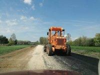Kış aylarında zarar gören yollar onarılıyor