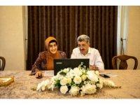 Vali Bilmez ve eşi Meral Bilmez şehit ve engelli aileleriyle görüştü