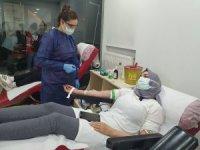 Kızılay kan bağışı çağrısında bulundu, vatandaşlar kan vermek için koştu