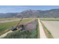 Tarım arazilerini taşkınlardan korumak için çalışmalar sürüyor