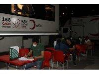 Diyarbakır Emniyeti'nden Kızılay'a kan bağışı