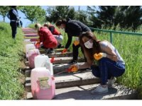 İzmit'te merdivenler renkleniyor
