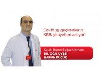 Kovid-19 geçirenlerin KBB şikayetleri artıyor