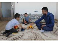 Bayrama yeni evlerinde girecek olan depremzedeler, huzuru yaşıyor