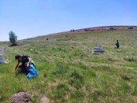 Keçiören'deki cami ve mezarlıklarda bayram temizliği