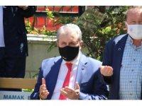 BBP Genel Başkanı Destici ile AK Parti Genel Sekreteri Şahin, Cebeci Askeri Şehitliği'ni ziyaret etti