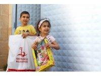 Başkan Sandal'dan çocuklara bayram sürprizi
