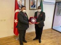 Başkan Beşiktepe, ölen Büyükelçi Chilengi için başsağlığı diledi