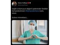 Gençlik ve Spor Bakan Yardımcısı Yerlikaya'dan Hemşireler Günü paylaşımı