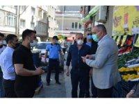 Başkan Sertaslan market denetiminde