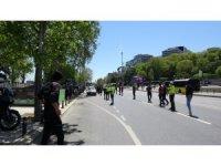 Vatandaşlar İl Emniyet Müdürü Zafer Aktaş'ın denetimine takılınca renkli anlar yaşandı