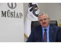 MÜSİAD Karabük, İsrail'in Mescid-i Aksa'ya saldırılarını kınadı