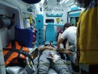 Evinin önünde saldırıya uğrayan kişi ağır yaralandı
