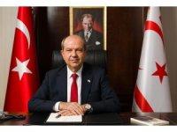 """KKTC Cumhurbaşkanı Tatar: """"İsrail terörüne seyirci kalanlar, insanlık suçuna ortak oluyor''"""