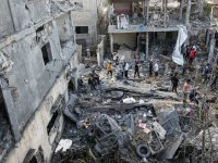 İsrail'in gece boyu vurduğu Gazze'de yıkımın boyutu gün doğunca ortaya çıktı