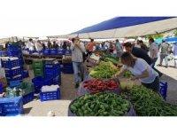 Karabük'te pazar yerleri geniş tedbirler altında ikinci kez açıldı