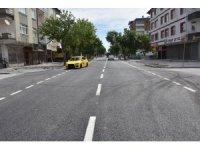 Kocasinan Belediyesi, tam kapanmada trafiğin azaldığı noktaları baştan aşağı yeniledi