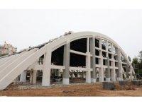 Atatürk Kapalı Spor Salonu'nda sona yaklaşıldı