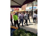 Başkan Vekili Yurt, pazarlarda inceleme yaptı