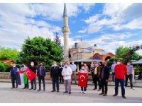Osmanlı'nın en büyük hadis medresesinin önünden İsrail'e seslendiler