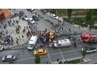 Sultangazi'de trafik kazası: 5 yaralı