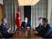 Milletvekili Toprak, Alman Müsteşar Bareiss ile Adıyaman'ı Görüştü