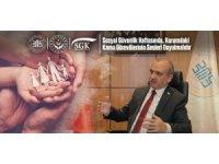 """Büro Memur-Sen Genel Başkanı Yazgan: """"SGK personeline emeklerinin karşılığı verilmelidir"""""""