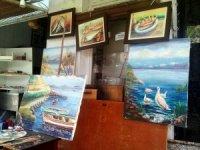 Mudanyalı 40 yıllık balıkçının resim aşkı