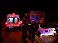 Başkent'te trafik kazası: 1 ölü, 1 yaralı