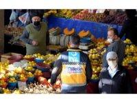 Aliağa pazarı, Helvacı pazarı ve Yeni Şakran pazarı cuma günleri kurulacak