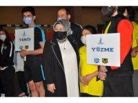 Sancaktepe Belediyesi'nden olimpiyatlara hazırlanan Filistinli sporculara büyük jest