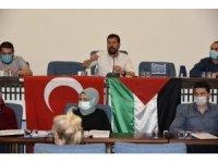 Sındırgı Belediye Meclisinden İsrail'e kınama