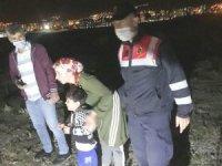 Kütahya'da kaybolan 4 yaşındaki çocuk boş arazide bulundu
