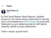 Binali Yıldırım'dan Meral Akşener'in ifadelerine sert tepki