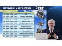 TEI Havacılık Motorları Okulu devam ediyor