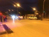 Osmaneli'nde iki otomobil çarpıştı: 1 yaralı