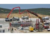 Aliağa Meslek Hastalıkları Hastanesinde inşaat devam ediyor
